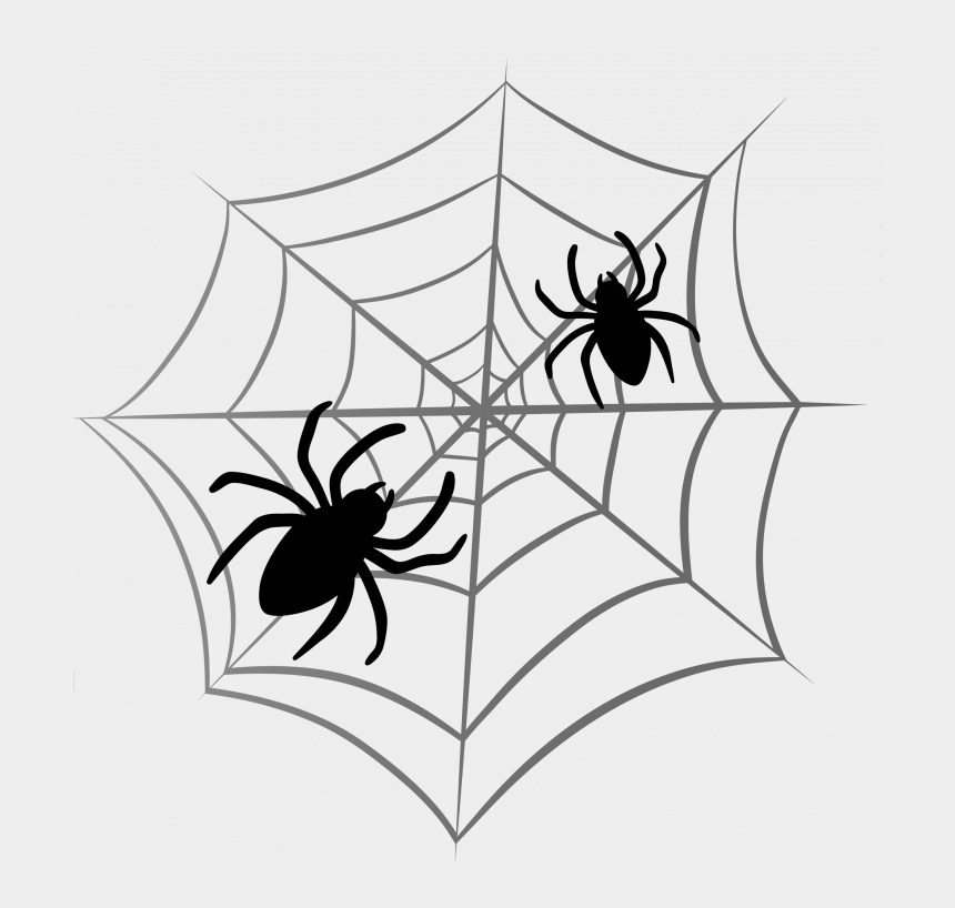 halloween clip art black and white, Cartoons - Halloween ~ Free Clip Art Downloadsor Halloween Microsoft - Halloween Spider On Web Png