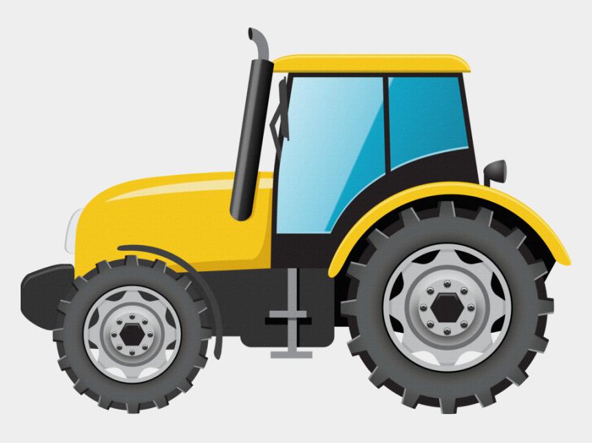 tractor clip art, Cartoons - Construction Clipart Tractor - Tractor Clipart