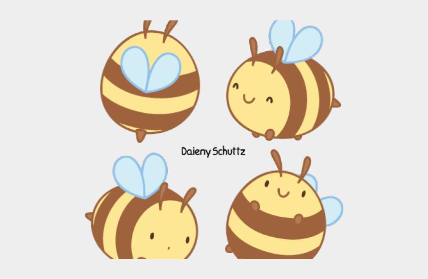 bee hive clip art, Cartoons - Drawn Bees Chibi - Kawaii Bee Drawing