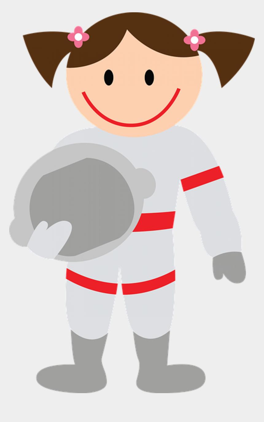 astronaut clip art, Cartoons - Word Astronaut - Niña Astronauta