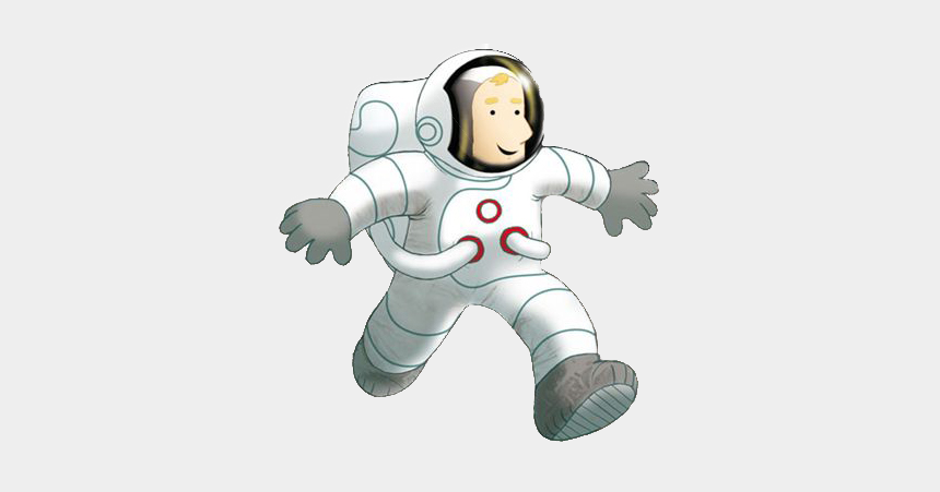 astronaut clip art, Cartoons - Spaceman - Story Book About Space