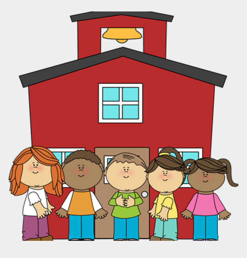 free clip art school, Cartoons - School House Clip Art Money Clipart Hatenylo - Schoolhouse With Kids