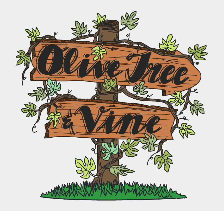 olive branch clip art, Cartoons - Olive Tree And Vine
