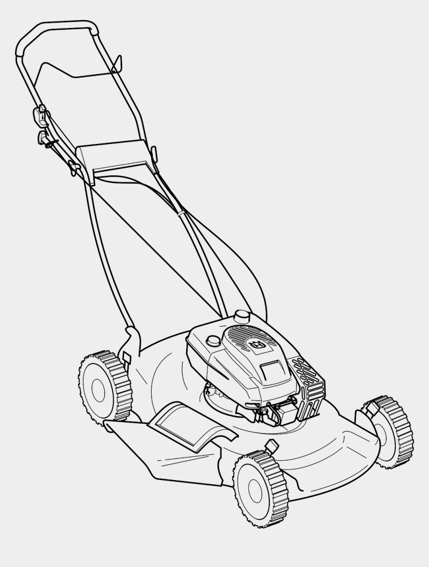 lawn mower clip art, Cartoons - Lawn Mower Clip Art