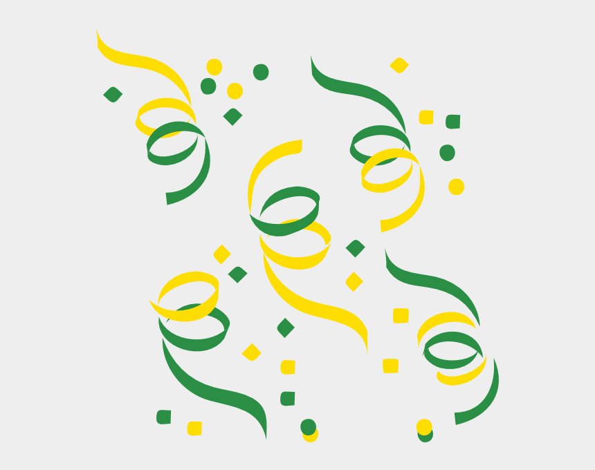 confetti clip art, Cartoons - Confetti Clip Art Clipart 2 - Confetti Png Green Vector