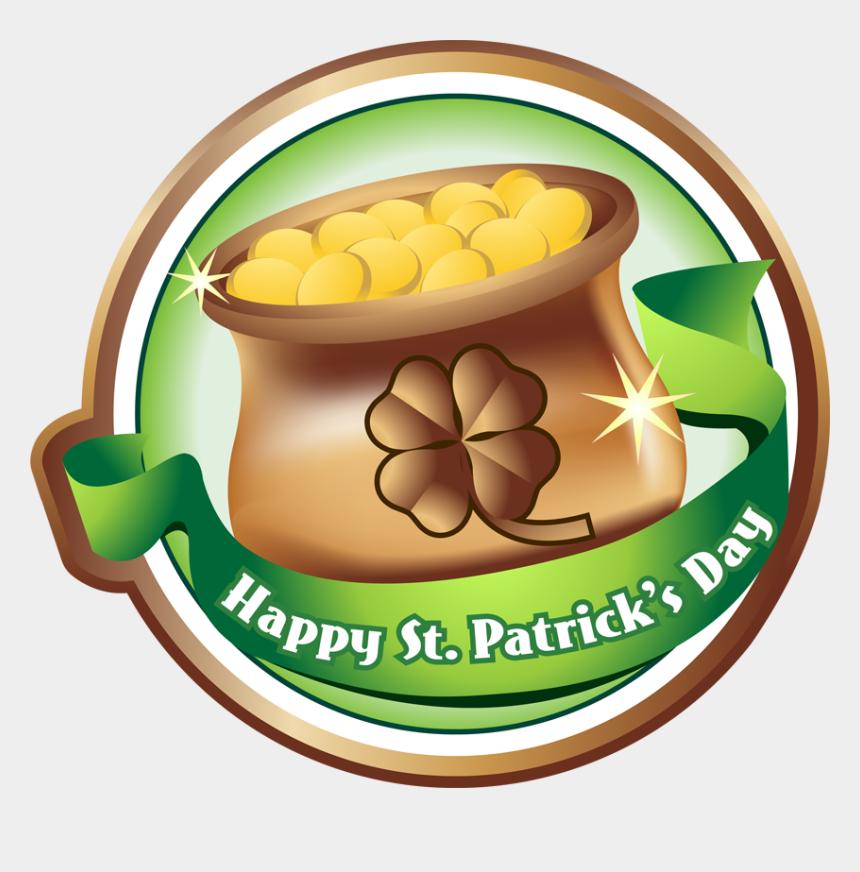 st patricks day clip art, Cartoons - Patrick's Day St Patrick's Day Emblem - Saint Patrick's Day Clip Art Pot Of Gold