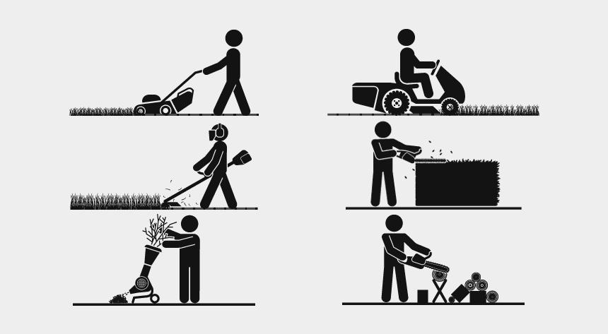 lawn mower clip art, Cartoons - Garden Equipment Repairs - Hedge Trimmer
