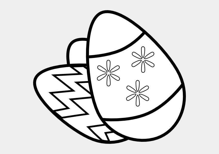 easter eggs clip art, Cartoons - Easter Eggs Clip Art Black And White