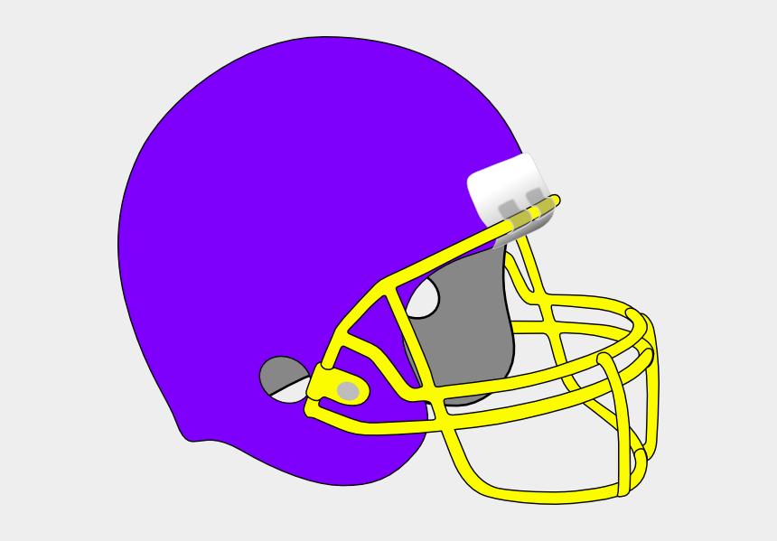 football helmet clip art, Cartoons - Green And Yellow Football Helmet