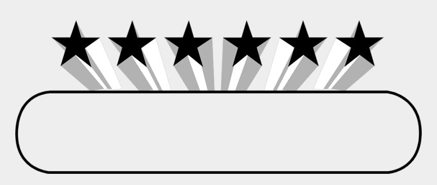 stars clipart black and white, Cartoons - Star - Design Black And White Border