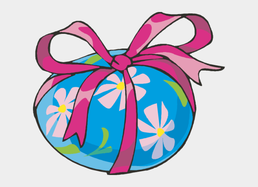 easter eggs clip art, Cartoons - Easter Eggs Clipart - Transparent Pink Easter Bow