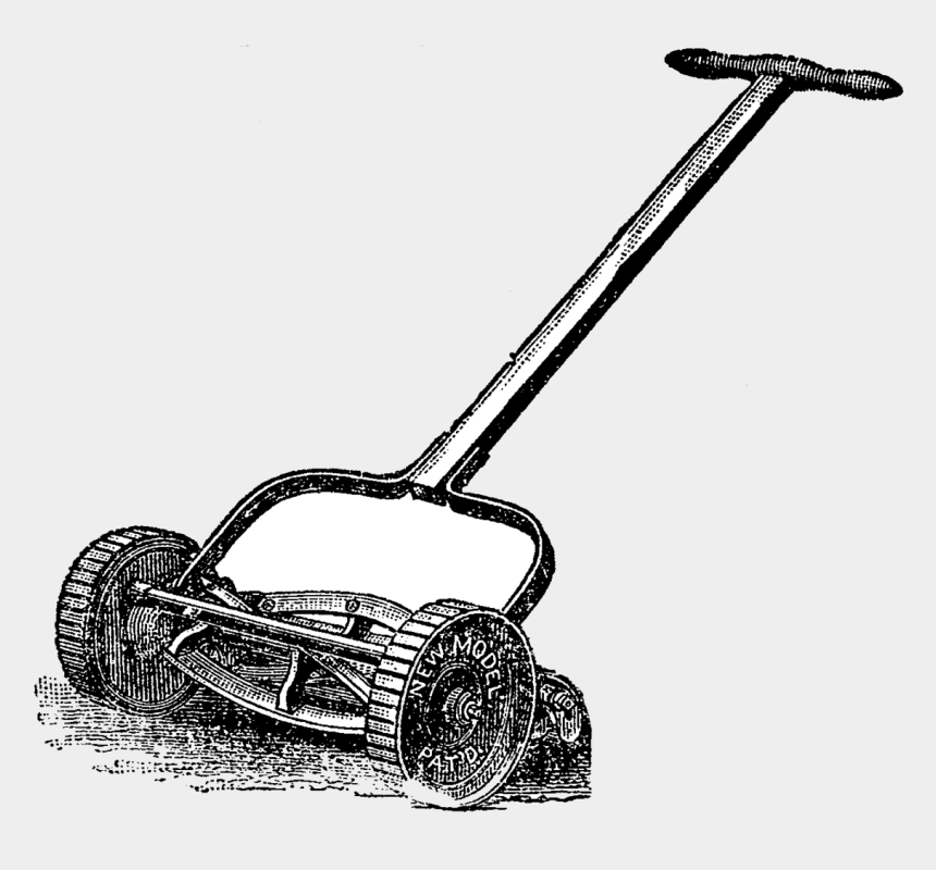 lawn mower clip art, Cartoons - Tool Clipart Lawn Mowing - First Lawn Mower