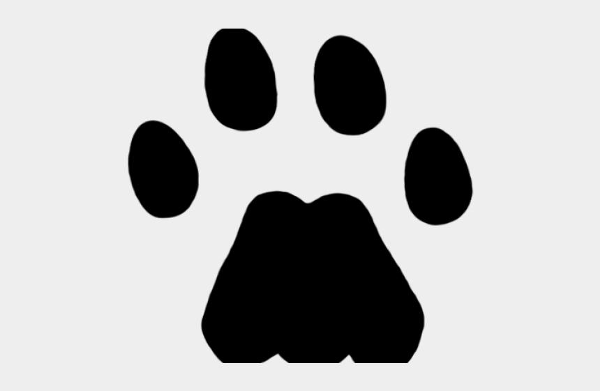 cougar clip art, Cartoons - Footprint Clipart Cougar - Paw Print Mountain Lion