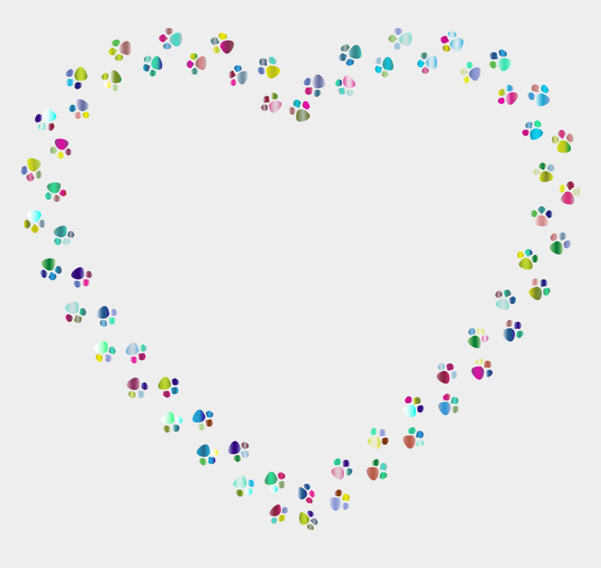 Heart Confetti Clipart Rainbow Paw Print Heart Cliparts Cartoons Jing Fm They must be uploaded as png files, isolated on a transparent background. heart confetti clipart rainbow paw