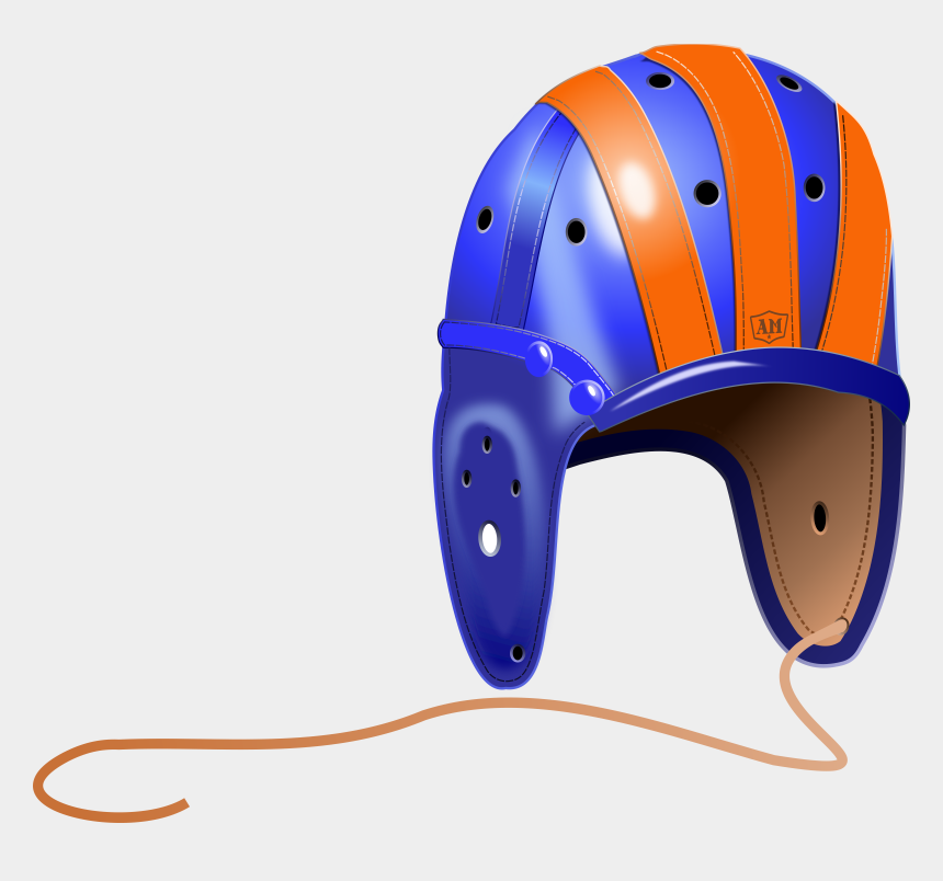 football helmet clip art, Cartoons - Old Football Helmet Transparent