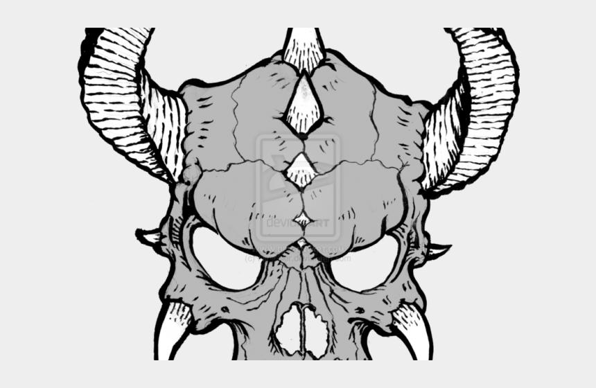 skeleton clip art, Cartoons - Skeleton Head Clipart Zombie Skull - Draw Cool Skeleton Head