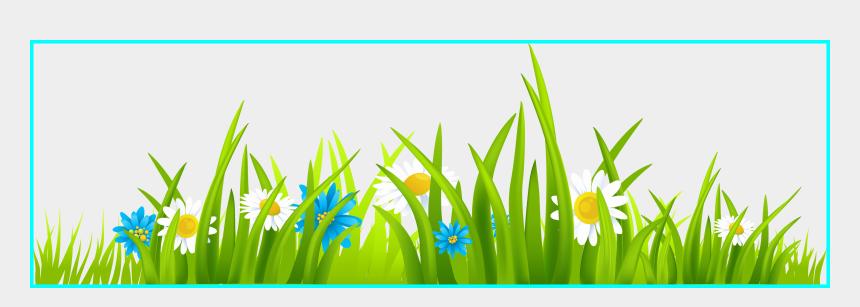 garden clip art, Cartoons - Appealing Grass Clip Art Clipart Diversos Pic Of Sunflower - Grass With Flowers Clipart Png