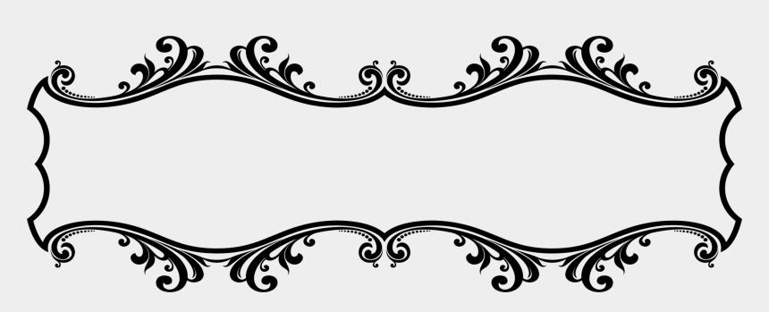 ornament clip art, Cartoons - Decorative Borders Decorative Arts Ornament Line Art - Clip Art Border Design
