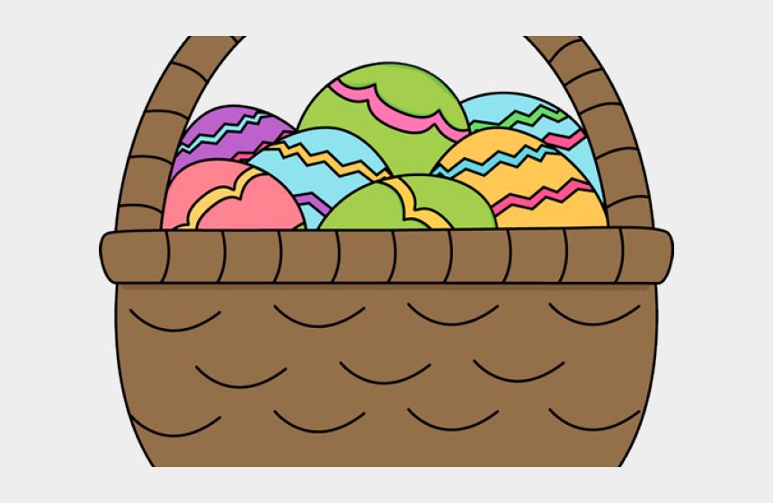 easter eggs clip art, Cartoons - Easter Egg Basket Png - Easter Basket Playdough Mat