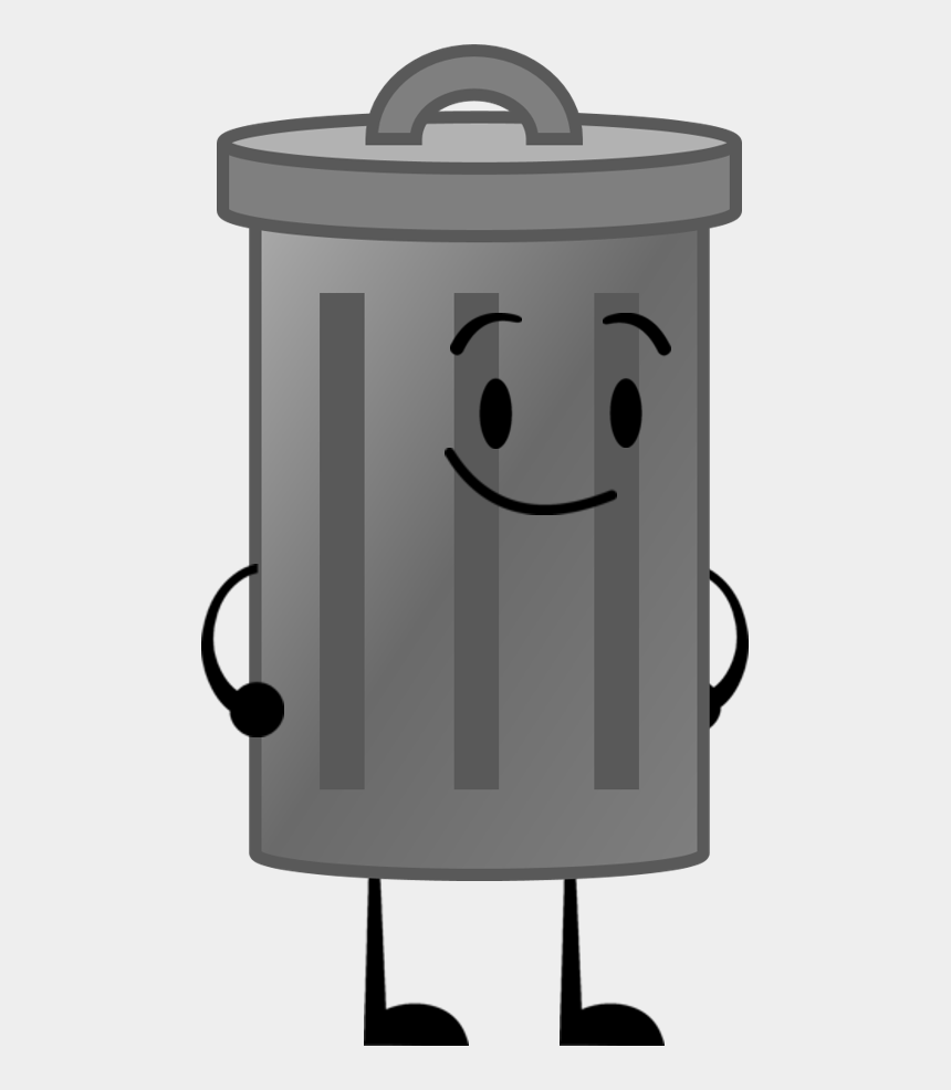 trash can clip art, Cartoons - Trash Can - Object Shows Trash Can