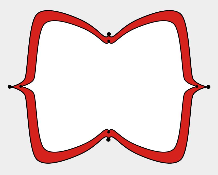 frame clip art, Cartoons - Red Frame Clipart - Red Label Frame Png