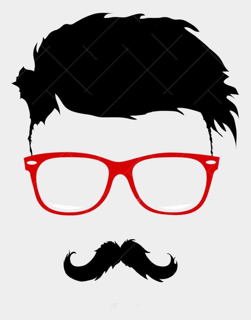 beard clip art, Cartoons - Hairstyle Vector Bun Graphics Moustache Beard Clipart - Mustache Beard Glasses Hairstyle
