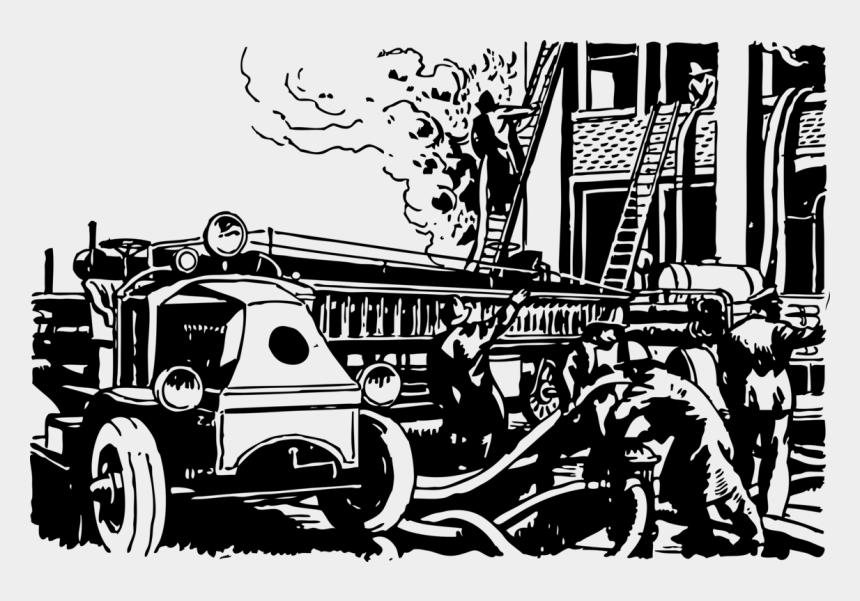fire truck clip art, Cartoons - Fire Truck Clip Art
