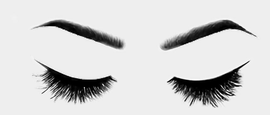 eyelashes clipart, Cartoons - #eyes #eyelashes - Brows And Lashes Png
