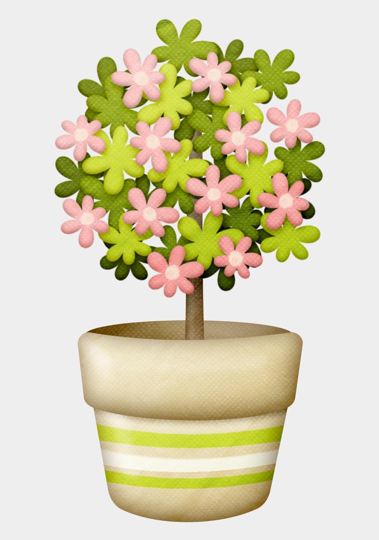 garden clip art, Cartoons - Flowers Of The Juju´s Garden Clipart - Tree For Garden Clipart