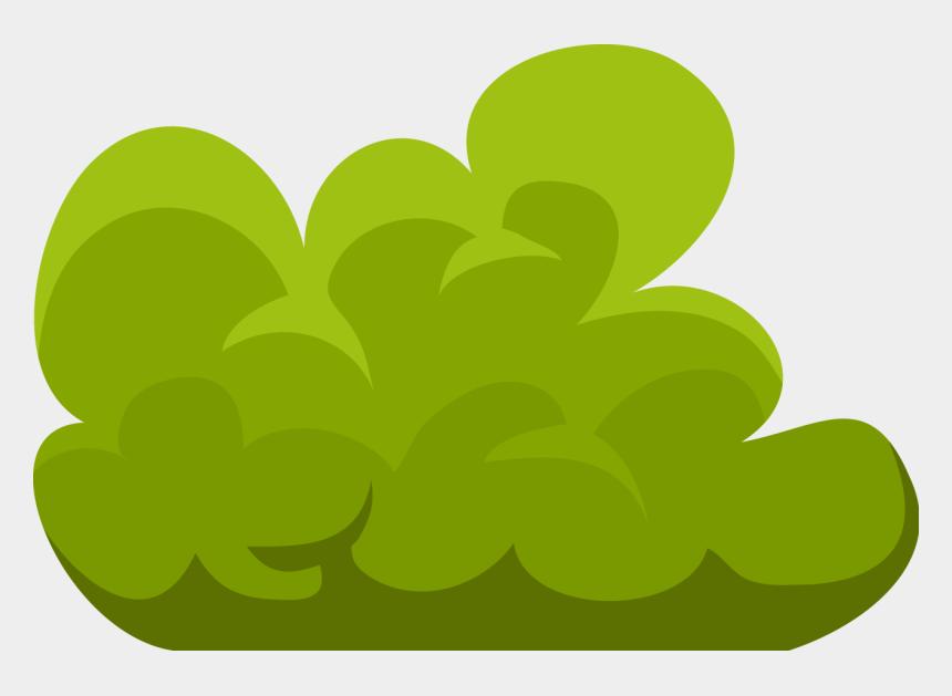 plant clip art, Cartoons - Bush Plant Clip Art - Bush Clipart Transparent Background