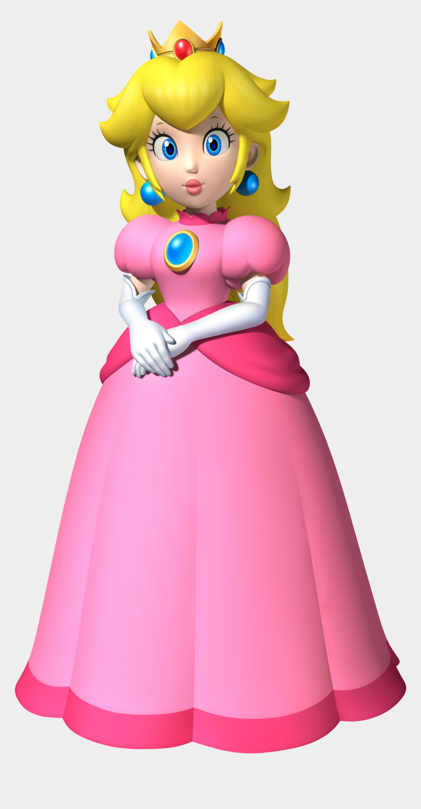 peach clipart, Cartoons - Princess Peach New Super Mario Bros