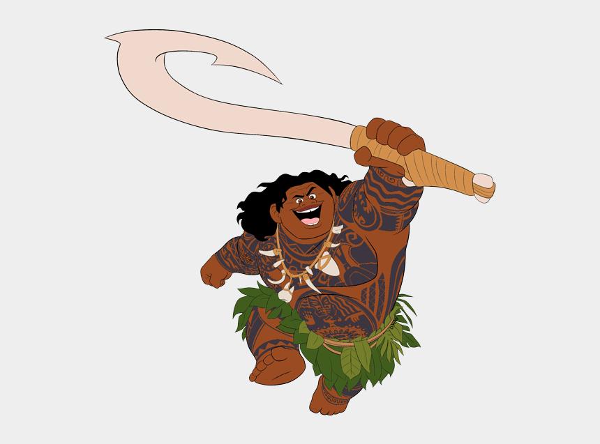 Moana Clip Art - Maui From Moana Clipart, Cliparts