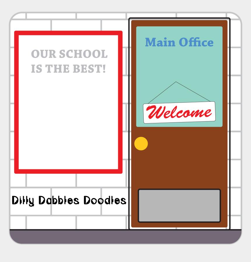 clip art school, Cartoons - School Office Clip Art School Clip Art - School Office Clip Art