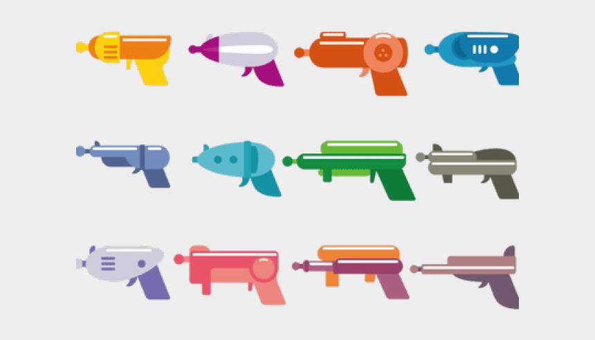 gun clip art, Cartoons - Gun Clipart Toy - Laser Tag Gun Clip Art