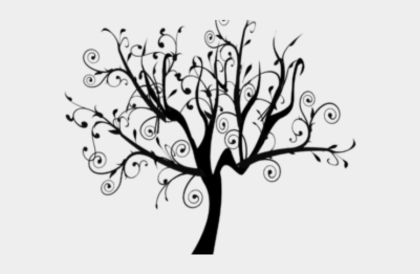family tree clip art, Cartoons - Vines Clipart Family Tree - White Tree Clipart Transparent Background