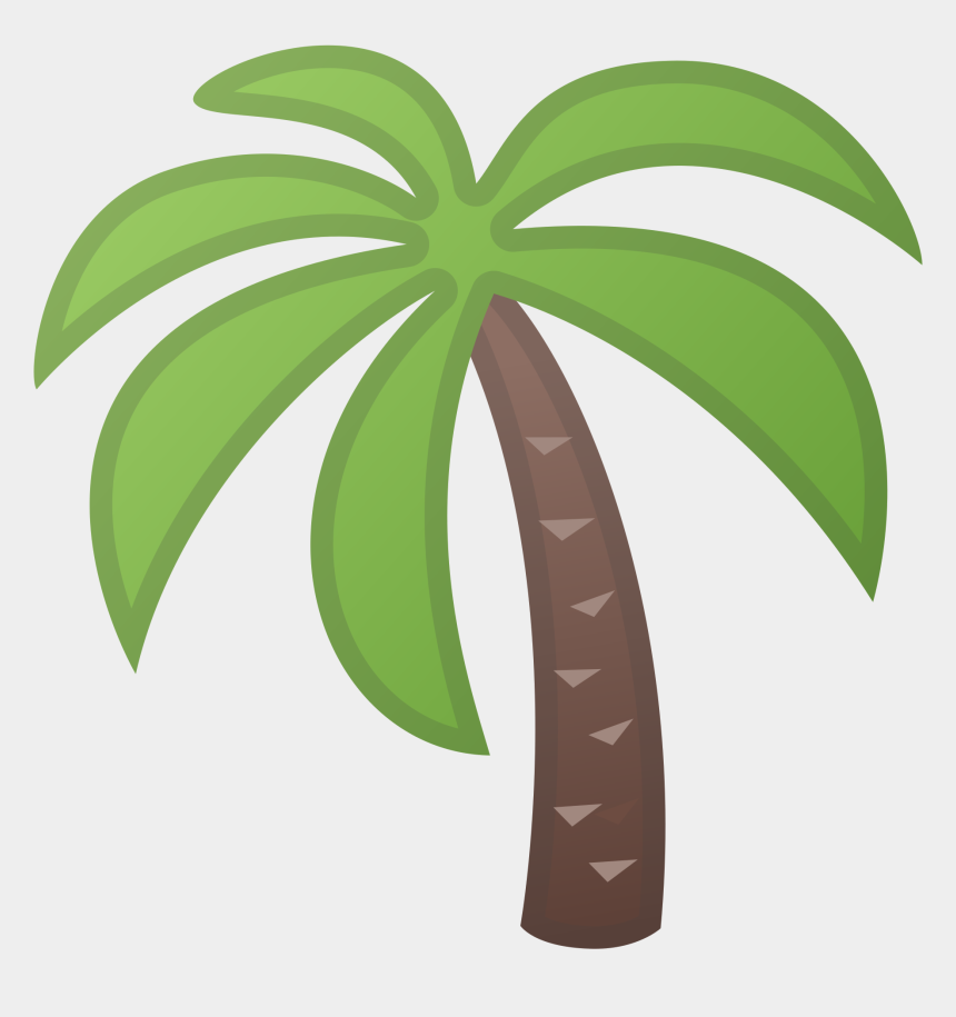palm trees clipart, Cartoons - Emoji Clipart Palm Tree - Transparent Palm Tree Icon