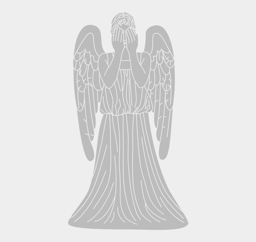 angels clipart, Cartoons - Christian Clip Art Weeping Angel Drawing Physician - Doctor Who Weeping Angels Clipart