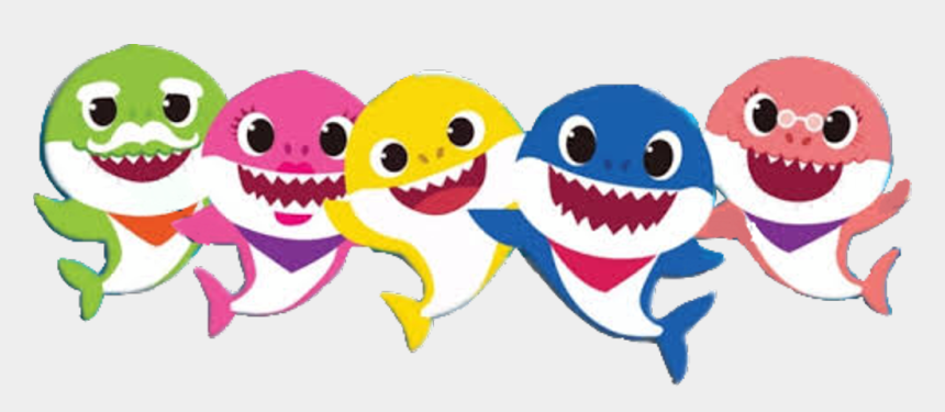 shark clip art, Cartoons - Baby Shark Clipart Transparent Background - Baby Shark Clipart Png