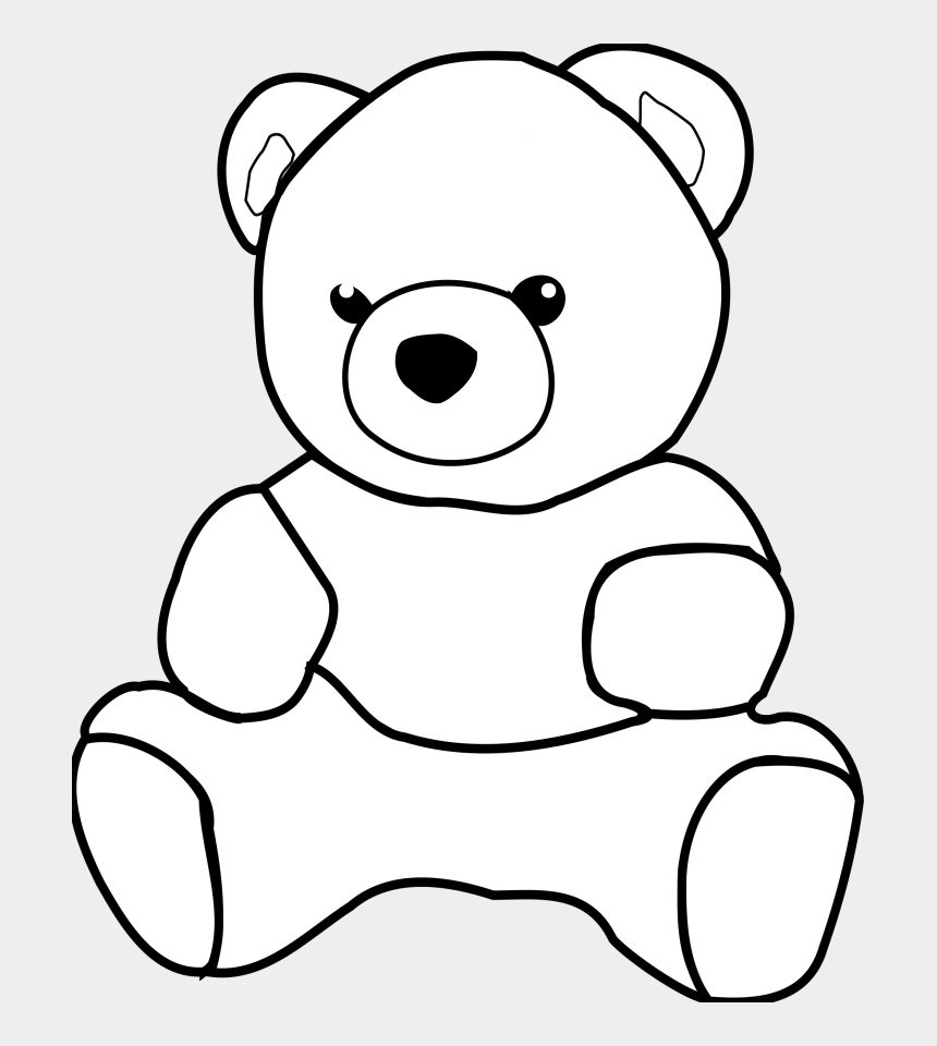 teddy bear clipart, Cartoons - Clipart Royalty Free Free Images Cute - Teddy Bear Drawing Outline