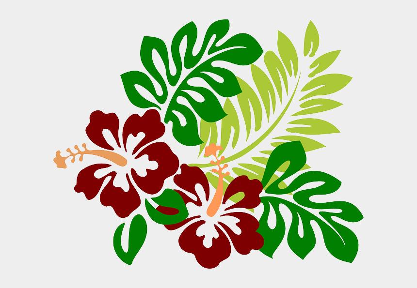 Moana hibiscus. Flower clipart clip art