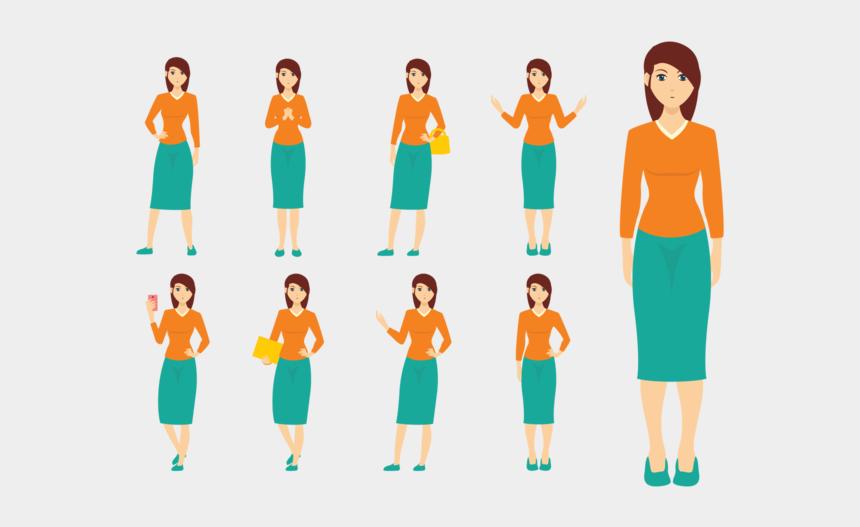 woman relaxing clipart, Cartoons - Woman Vector - Female Body Cartoons Png