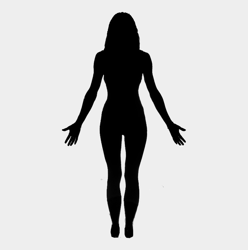 Mountain Pose Woman Listen To Your Body Women Full Body Silhouette Cliparts Cartoons Jing Fm