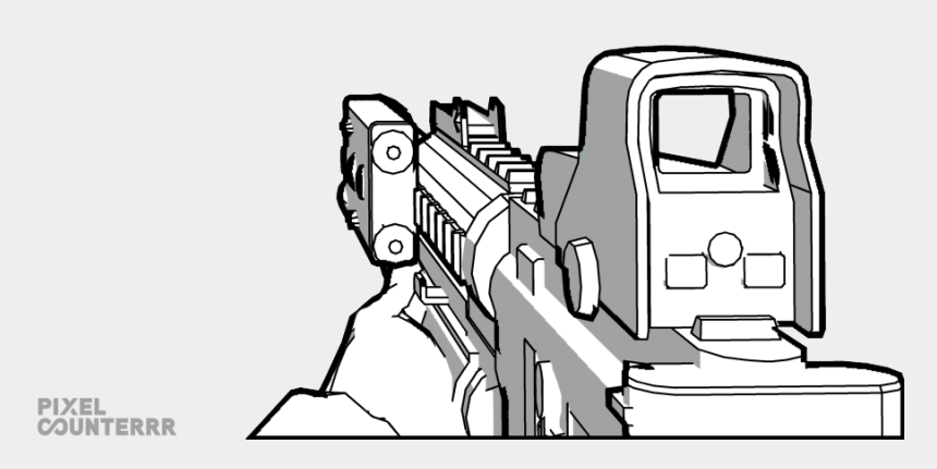 First Drawing Call Duty For Free Download First Person Gun Drawing Cliparts Cartoons Jing Fm
