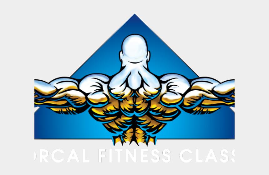 bodybuilders clipart, Cartoons - Bodybuilding Logo Png