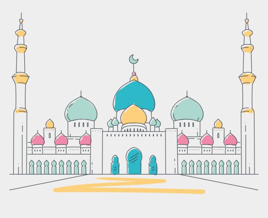 mosque clipart, Cartoons - Mosque Vector - Mosque Vector Png