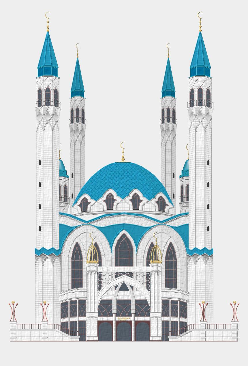 mosque clipart, Cartoons - Mosque Clipart Sharif - Kul Sharif Mosque