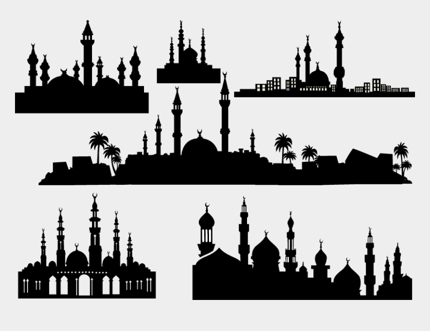mosque clipart, Cartoons - Download Masjid Black Png Clipart Mosque Clip Art Mosque - Iftar Buffet In Islamabad 2019