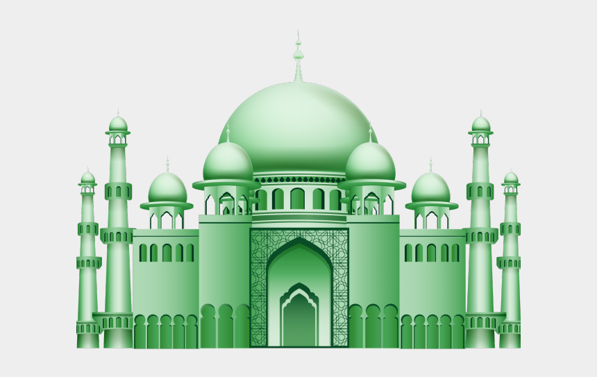 mosque clipart, Cartoons - Drawn Mosque Transparent - Mosque Png