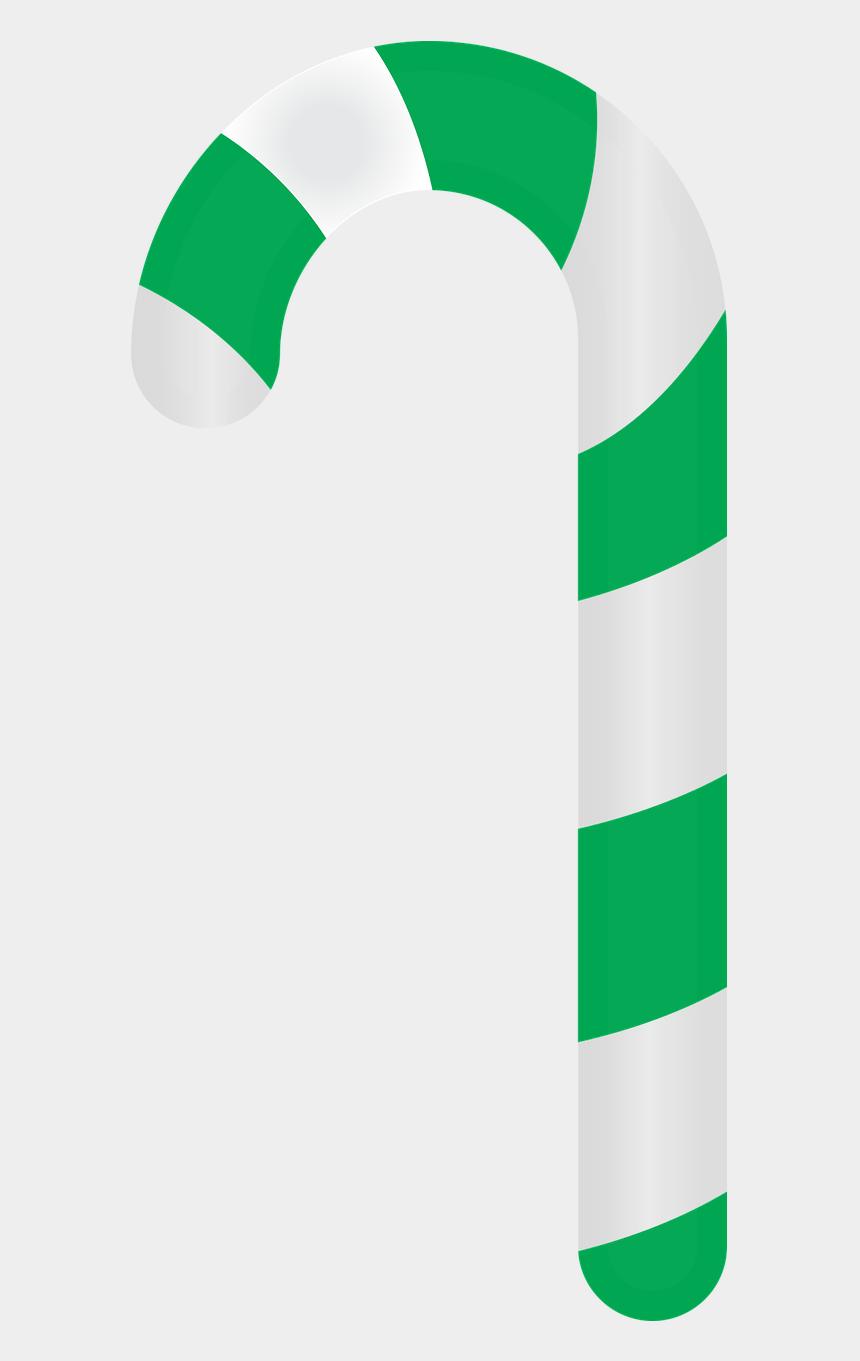 candy cane clipart border, Cartoons - Green Candy Cane Png Clipart , Png Download - Green Candy Cane Cartoon Transparent