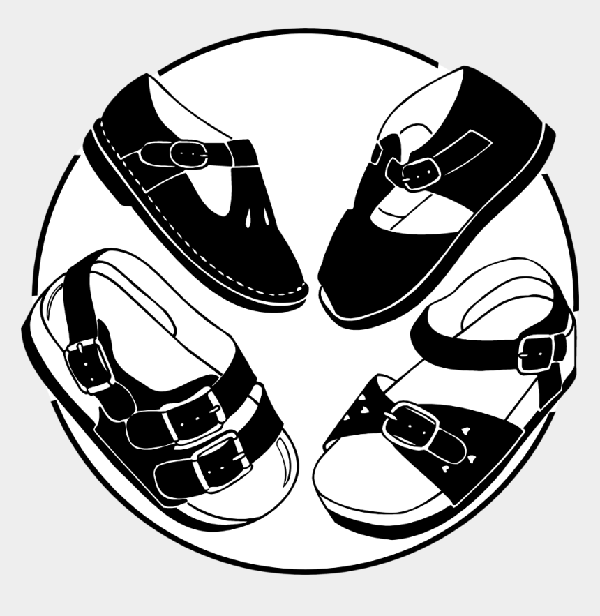 baby girl clipart black and white, Cartoons - Baby Shoes Clipart Black And White Download - Girl Shoe For Kid Clipart